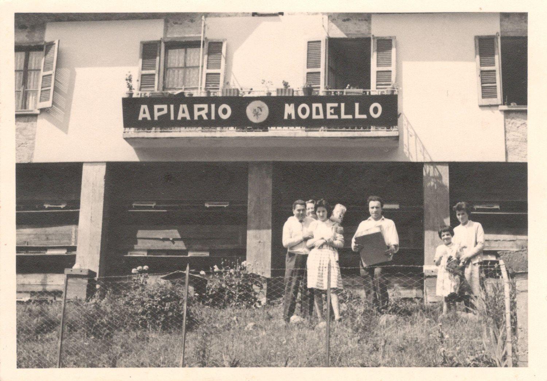 Foto di famiglia Cav. Ottavio Nana - Primi anni '60