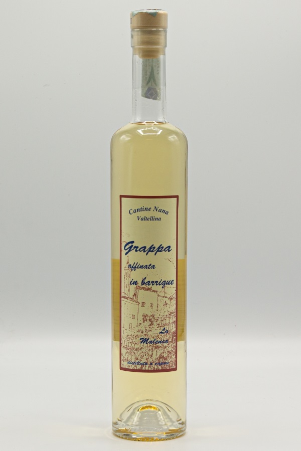 La Malenca barrique: Grappa affinata in barrique